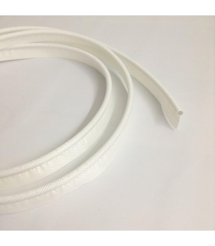 Keder 7.5mm Weiß